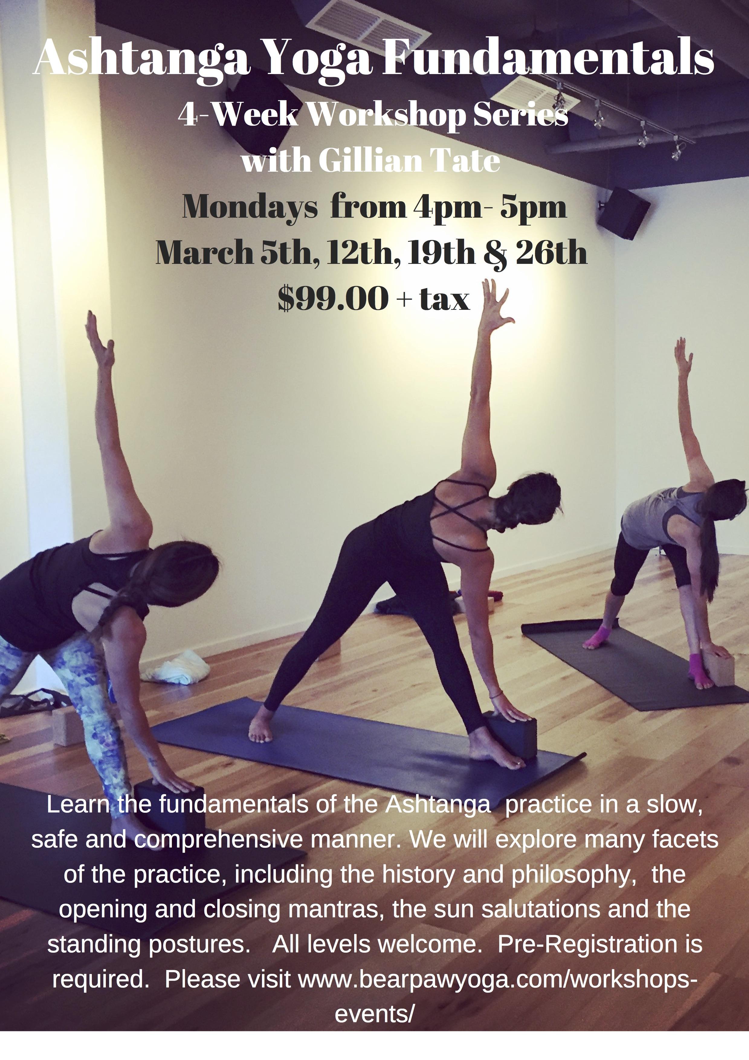 Ashtanga Yoga Fundamentals