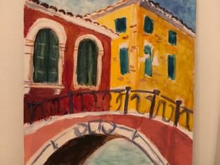 My Painting in Venezia