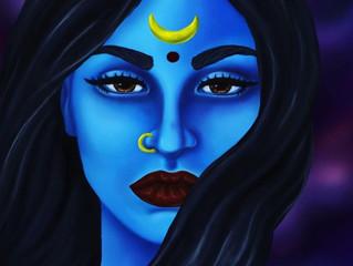 Kali the Goddess...Fiery & Fierce