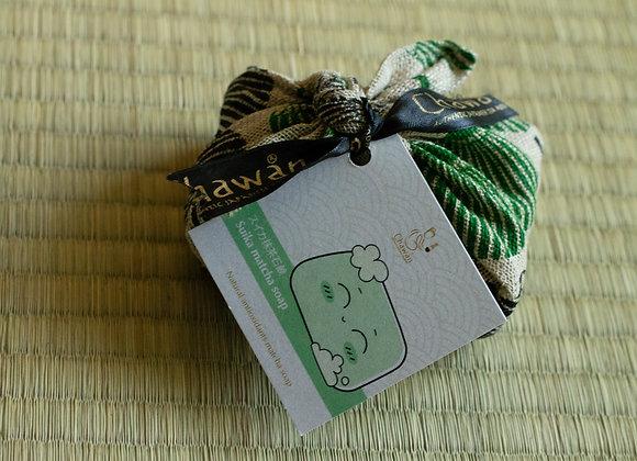 Suika matcha soap スイカ抹茶石鹸