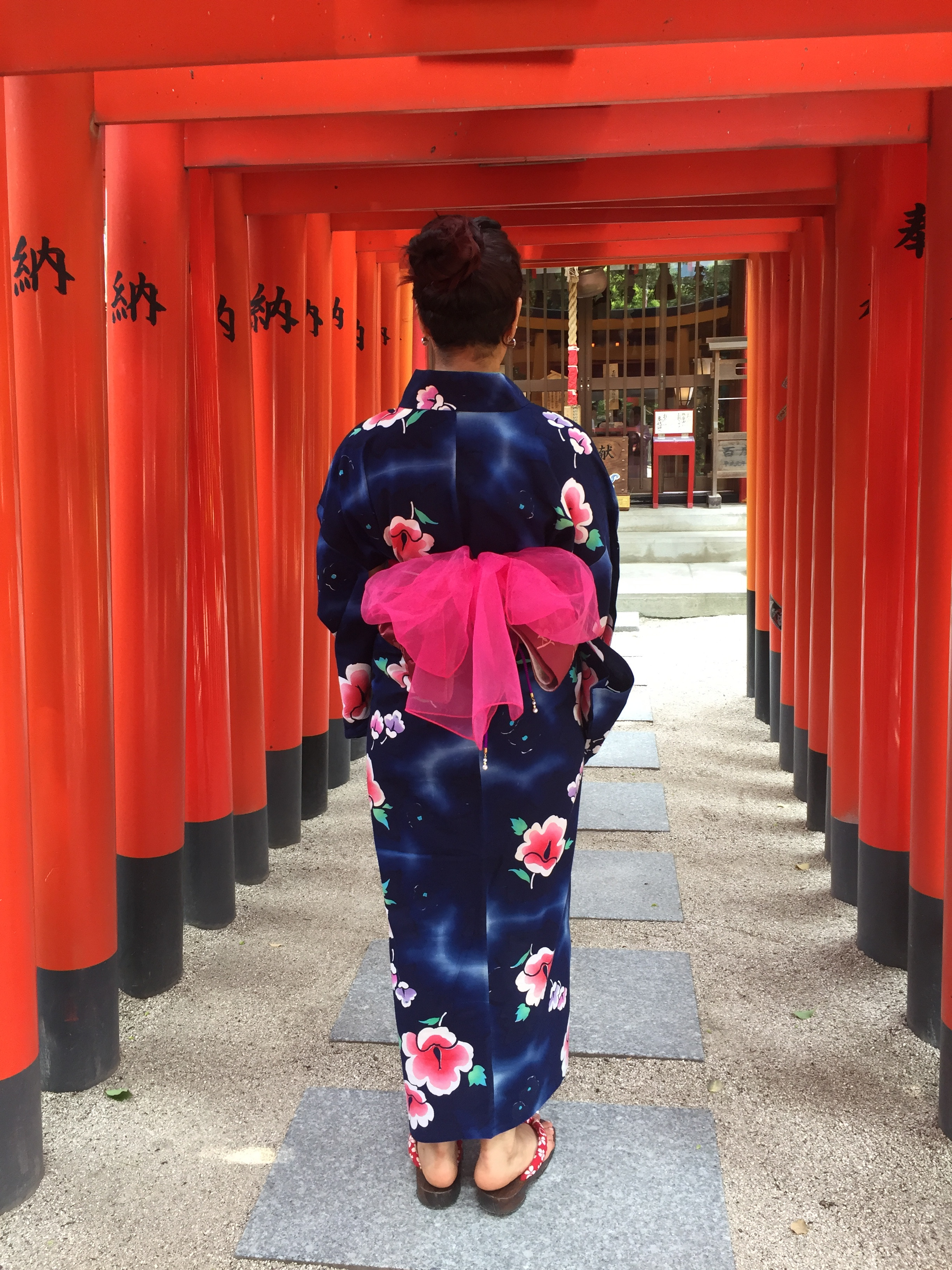 Yukata / kimono experience