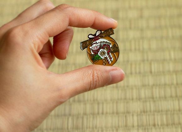 The Shimenawa pin