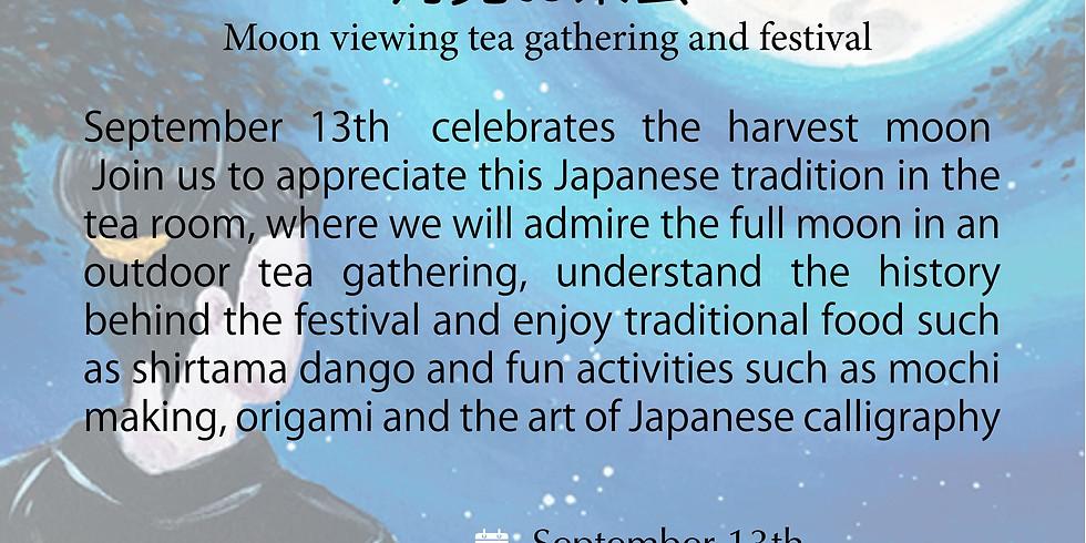Tsukimi (Moon viewing) tea gathernig and festival