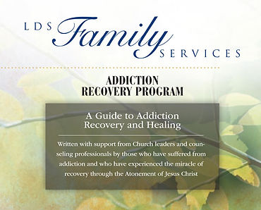LDS Family Services Addiction Recovery Program Cover