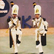 Early PV Drum Majors under the direction