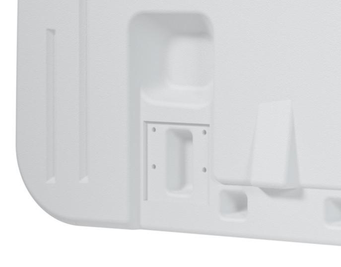 Suporte removivel para cabeceira de cama hospitalar Tyvs