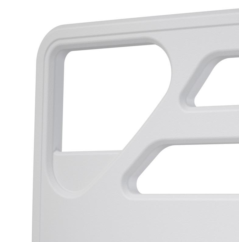 Grade cabeceira em plastico para cama hospitalar CIPLA