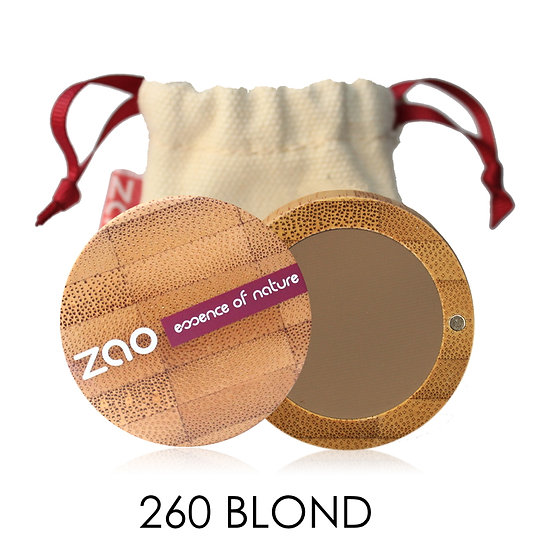 [ZAO] Poudre à sourcils BIO - 3 teintes