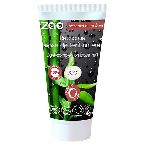 [ZAO] Recharge base lumière de teint BIO