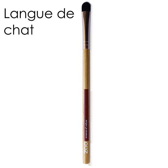 """[ZAO] Pinceau yeux """"Langue de chat"""""""