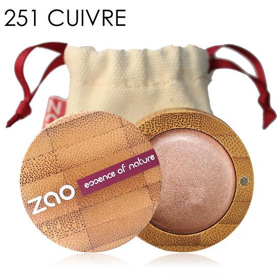 [ZAO] Fards à paupières crèmes BIO - 4 teintes