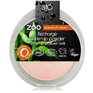 [ZAO] Recharge Shine Up Powder BIO - 310 Champagne Rosé