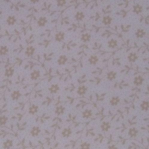 Redwork Renaissance - beige floral