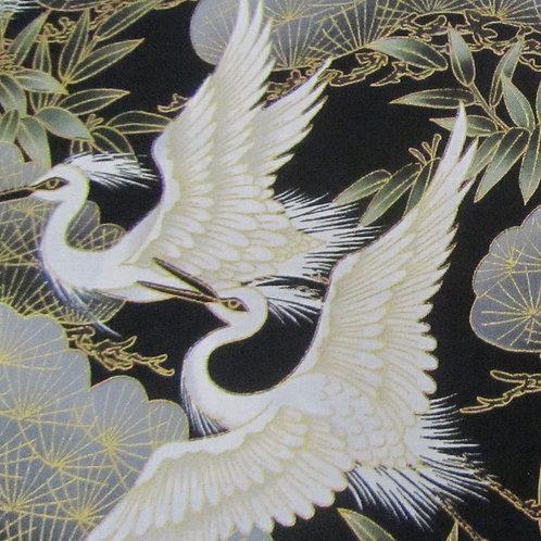 Serene - Black Crane