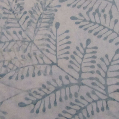 Batiks - Blue leaf