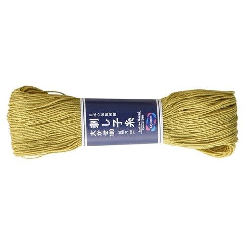 Sashiko thread 100m straw st106