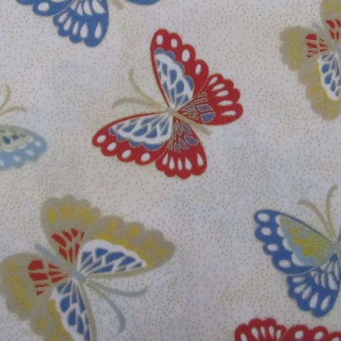 Red Rooster - Butterfly White
