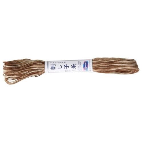 Sashiko thread 20mt variegated woodland st94