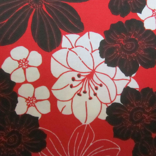 Ultriana- Red/ black floral