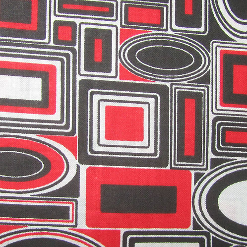 Ultriana- Red/ black shapes