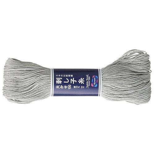 Sashiko thread 100m grey st113