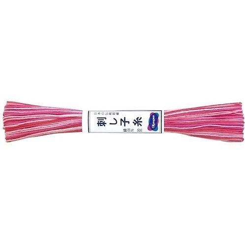 Sashiko thread 20mt variegated pink st53