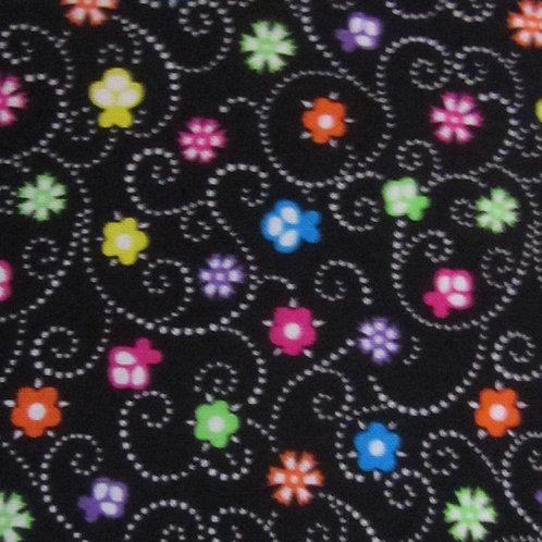 Brights - Floral Swirl