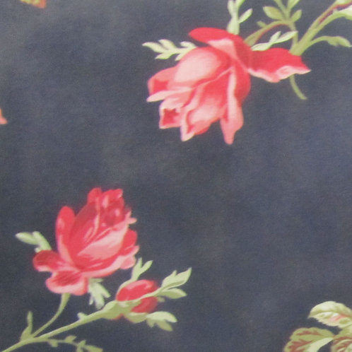 Garden of Enchantment - Black Floral Small