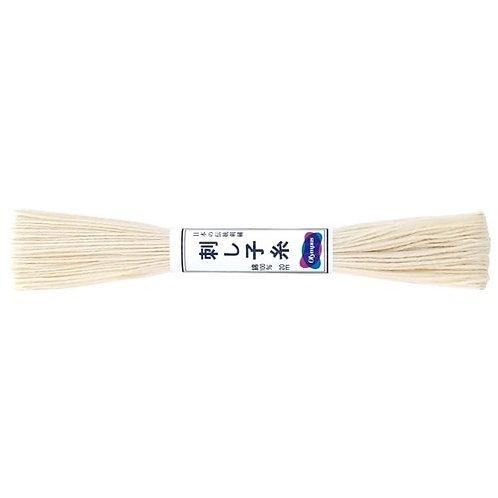 Sashiko thread 20mt ecru st2
