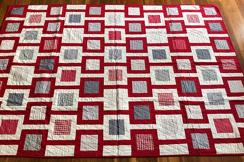 Chain linked quilt kit