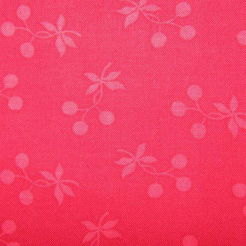 Redwork Renaissance - red floral