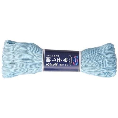 Sashiko thread 100m light blue st108