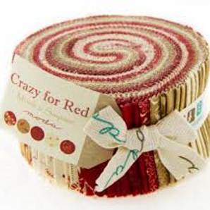 Crazy for Red Jelly Roll