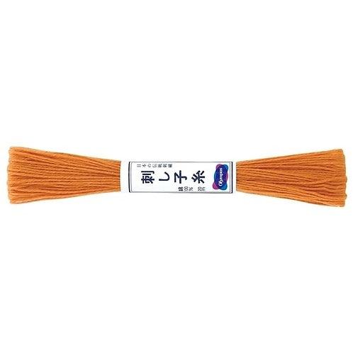 Sashiko thread 20mt burnt orange st4