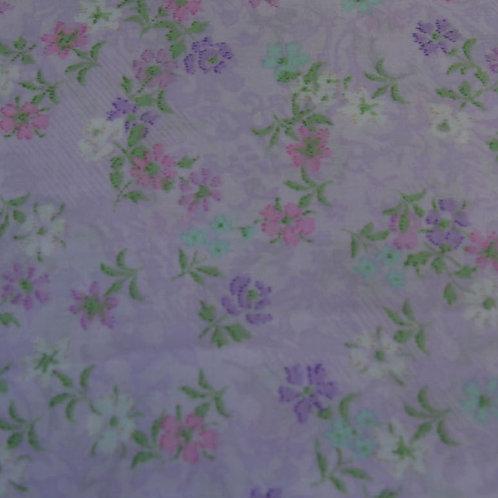 Purple/pink floral