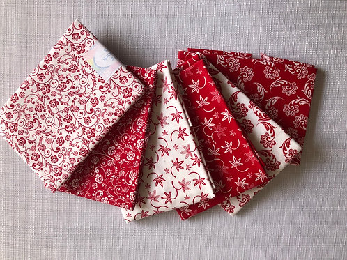 Fat quarter pack of 6