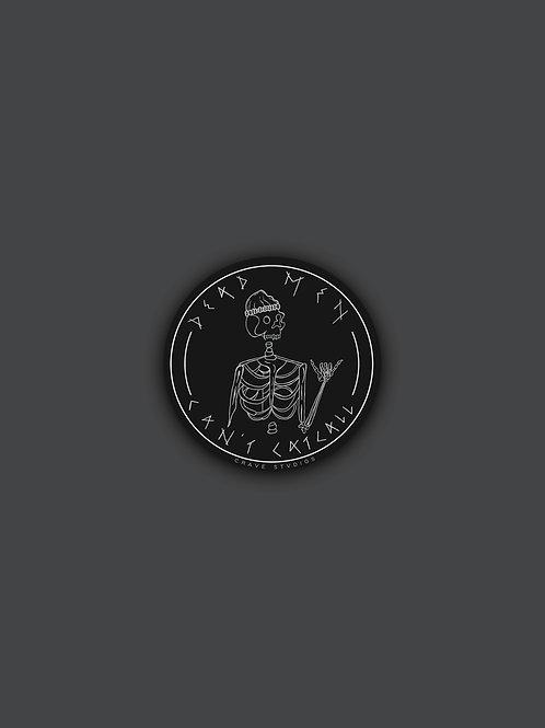 dead men sticker