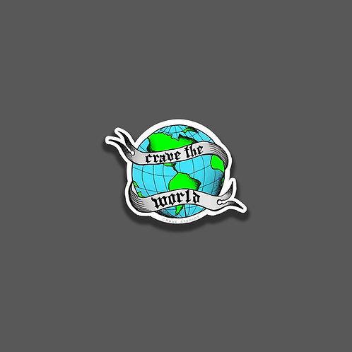 crave the world sticker