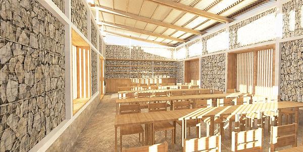 Magadi Classroom Render 3 - Inside - New