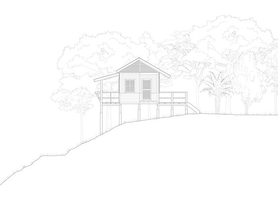 04 Elevation showing raised access and t