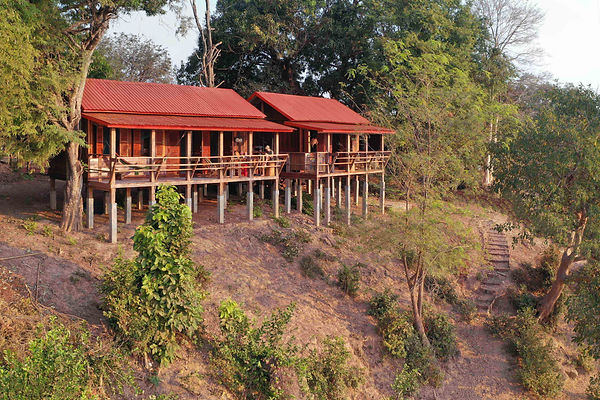 02 The communal building and private hom