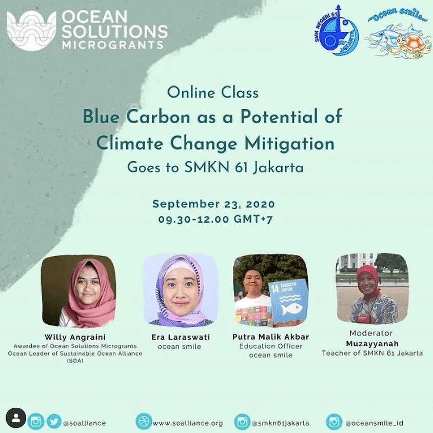 Blue Carbon as a Potential of Climate Change Mitigation