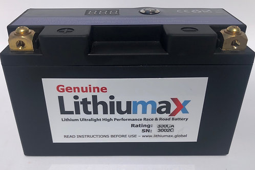 Lithiumax 300CA RACE3 Engine Starter Battery