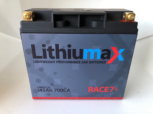 Lithiumax NEW RACE7+ 700CA ULTRA-LIGHT Engine Starter Battery