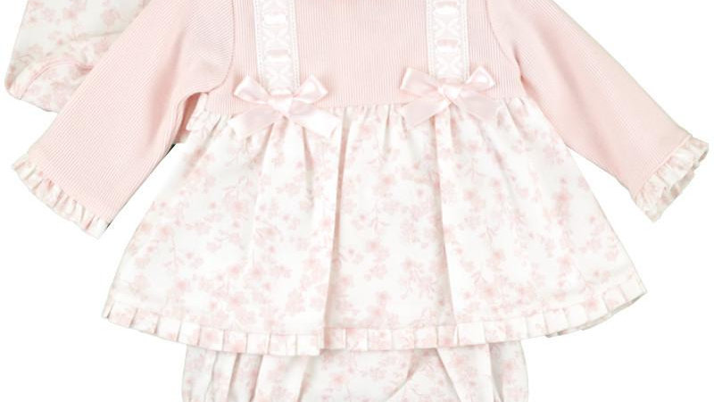 Zianna Pink Floral 3 piece