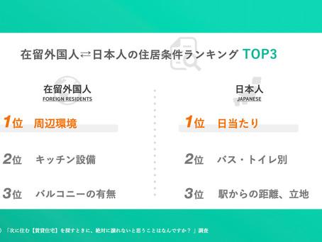 「お国柄でここまで違う!?」日本人入居者との違いをデータで読み解く