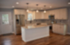 Kitchen Living Room Construction Additio