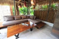 Living room in 3 bedrooms private villa