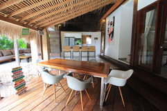 Lounge in 3 bedrooms private villa La Cabane
