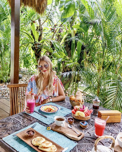 Breakfast on your terrace